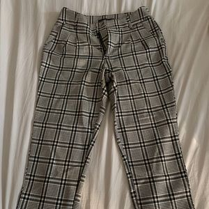 Abercrombie & Fitch Pants - Abercrombie and Fitch Plaid Pants
